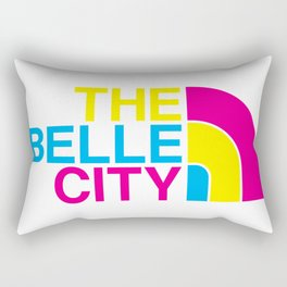 The Belle City Rectangular Pillow