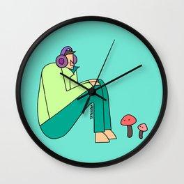 pleasant Wall Clock