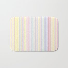 Happy Dream -Elegant Colorful stripe- Bath Mat
