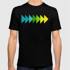 Arrows I Black LARGE Mens Fitted Tee