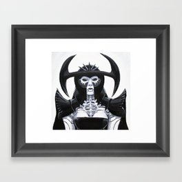 The Scarab Queen Framed Art Print