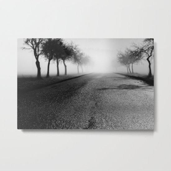 Pearly road Metal Print