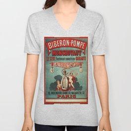 Vintage poster - Biberon-Pompe Unisex V-Neck