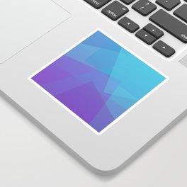 Purple Geometry Sticker