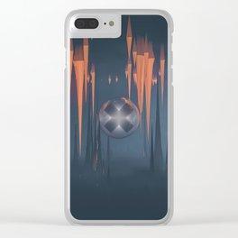 temporal underground Clear iPhone Case