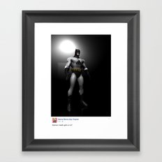 dar.k.night Framed Art Print