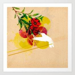 humming Art Print