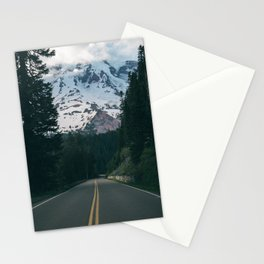 Road to Rainier Stationery Cards