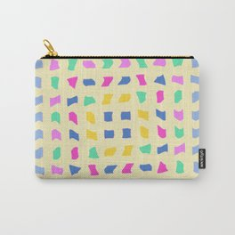 Colorblocks, Light Yellow Carry-All Pouch