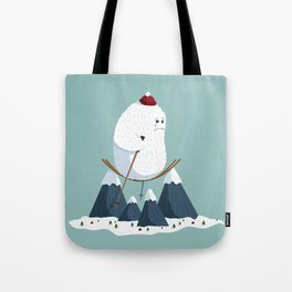 No slope, no hope Tote Bag