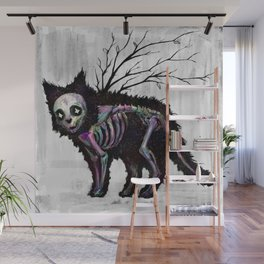 Lost kitty Wall Mural