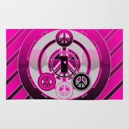 One Love (Pink) Rug