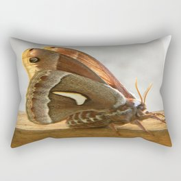 Redwood Moth Rectangular Pillow