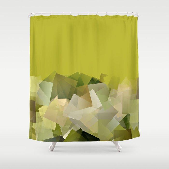 Mount St Victory Geometric Design For Paul Cézanne Shower Curtain