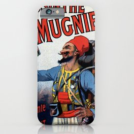 Absinthe Mugnier vertical banner iPhone Case