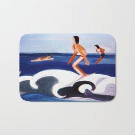 THe Big Wave                            by Kay Lipton Bath Mat