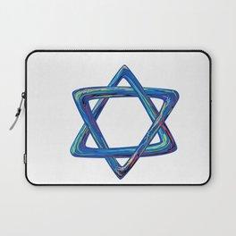 Shield of David. Star of David Laptop Sleeve