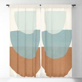 Azzurro Shapes No.56 Blackout Curtain