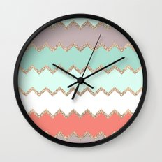 AVALON CORAL Wall Clock