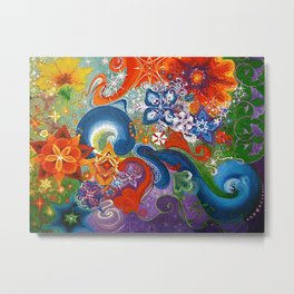 A Sprinkling for the May Queen Metal Print