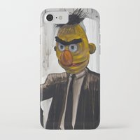 mask iPhone & iPod Cases featuring Pulp Street by Beery Method