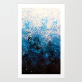 Original Abstract Art - Vesper Art Print