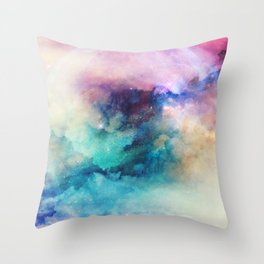 Dreaming by Nature Magick Throw Pillow
