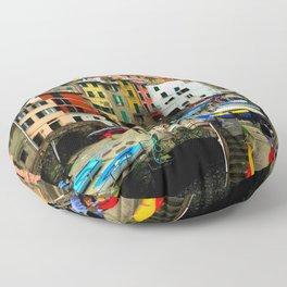 Cinque Terre - Riomaggiore Floor Pillow