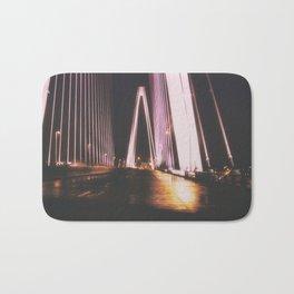 bridge at night Bath Mat