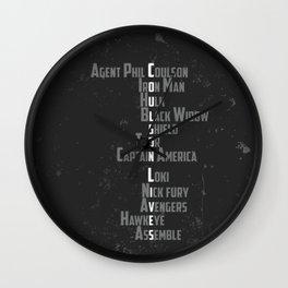 Coulson Lives Wall Clock