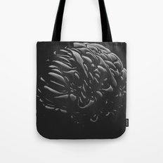 Black Brain Tote Bag