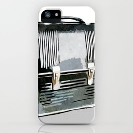 Digital Retro Relic Collection Vintage Lunchbox iPhone Case
