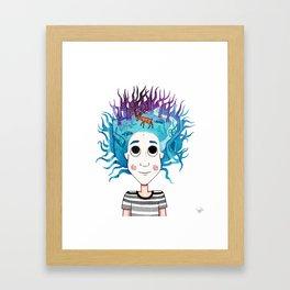 Imaginando un Bosque I Framed Art Print