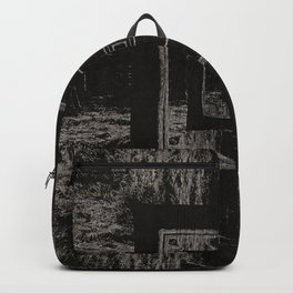 Trippy Forest Backpack
