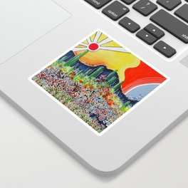 Nature's City Sticker