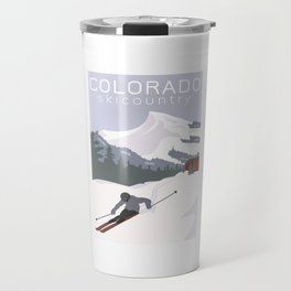Ski Colorado Travel Mug