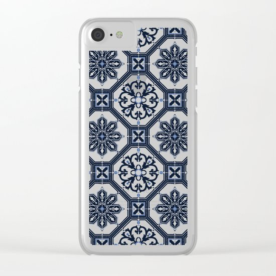 AZULEJOS Clear iPhone Case