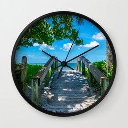 9th Street Bridge Wall Clock