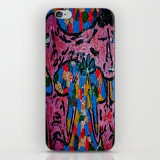 fist or flower iPhone & iPod Skin