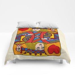 King of Hearts Comforters