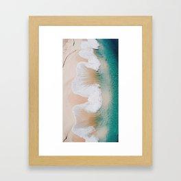 Waves For Days Framed Art Print