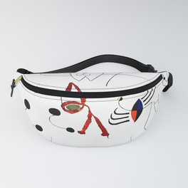 Joan Miro Woman Dreaming Of Escape T Shirt, 1945 Artwork Fanny Pack