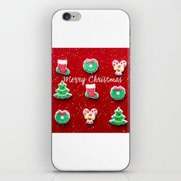 Merry Christmas 2 iPhone Skin