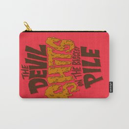 The Devil Shits... Carry-All Pouch