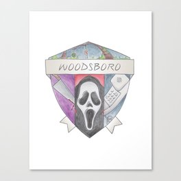 Woodsboro Crest Canvas Print