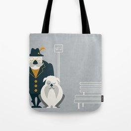 Mr. Mustachio Tote Bag