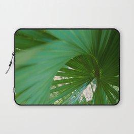 Curvy Fern Jungle Style Laptop Sleeve