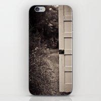 door iPhone & iPod Skins featuring Door by Vintage Rain Photography