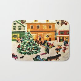 Magical Christmas  Bath Mat