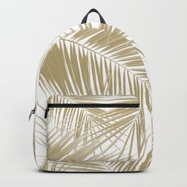 Palm Leaves - Gold Cali Vibes #6 #tropical #decor #art #society6 Backpack